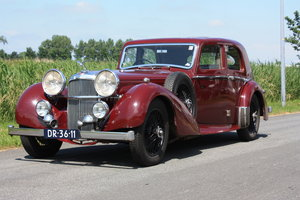 Alvis Speed 25 SC Charlesworth Saloon 1939   For Sale