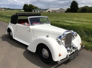 1949 Alvis TA 14 DHC For Exc or