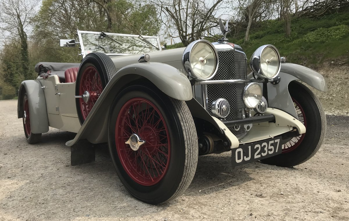 1932 Alvis Speed 20 SA Tourer - Reserved SOLD (picture 2 of 12)