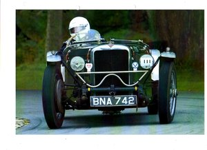 1935 POST VINTAGE ALVIS ROBINSON SPECIAL VSCC RACER For Sale