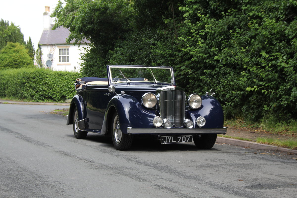 1947 Alvis TA14 Tickford DHC - Superb Provenance  SOLD (picture 1 of 12)