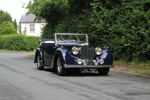 1947 Alvis TA14 Tickford DHC - Superb Provenance  SOLD