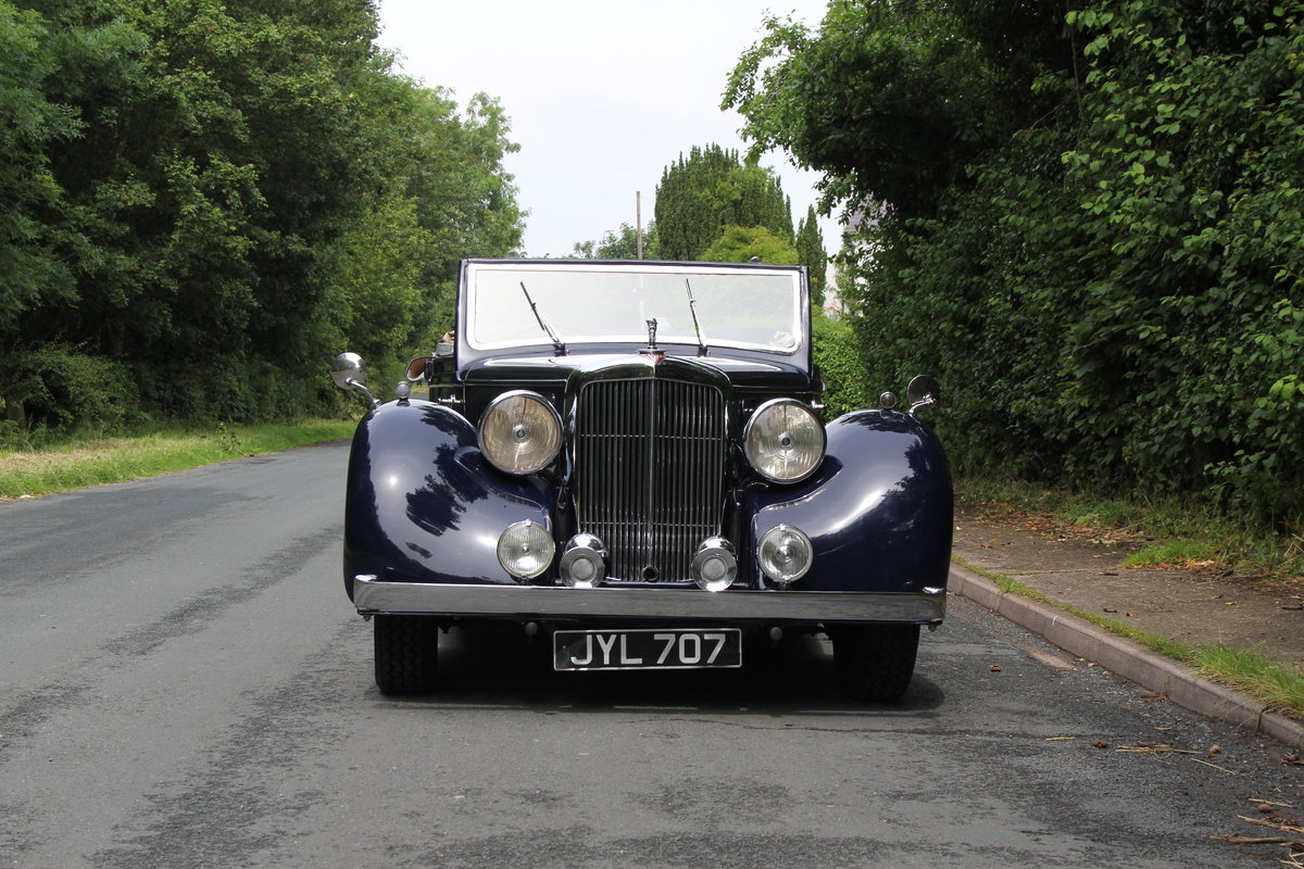 1947 Alvis TA14 Tickford DHC - Superb Provenance  For Sale (picture 2 of 12)