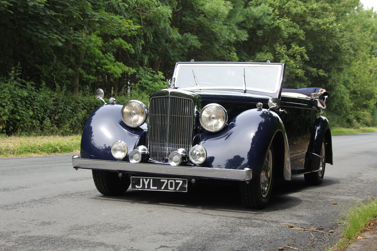 1947 Alvis TA14 Tickford DHC - Superb Provenance  SOLD (picture 3 of 12)