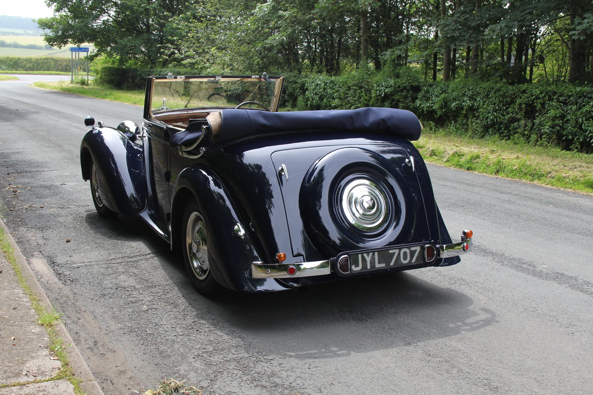 1947 Alvis TA14 Tickford DHC - Superb Provenance  SOLD (picture 4 of 12)