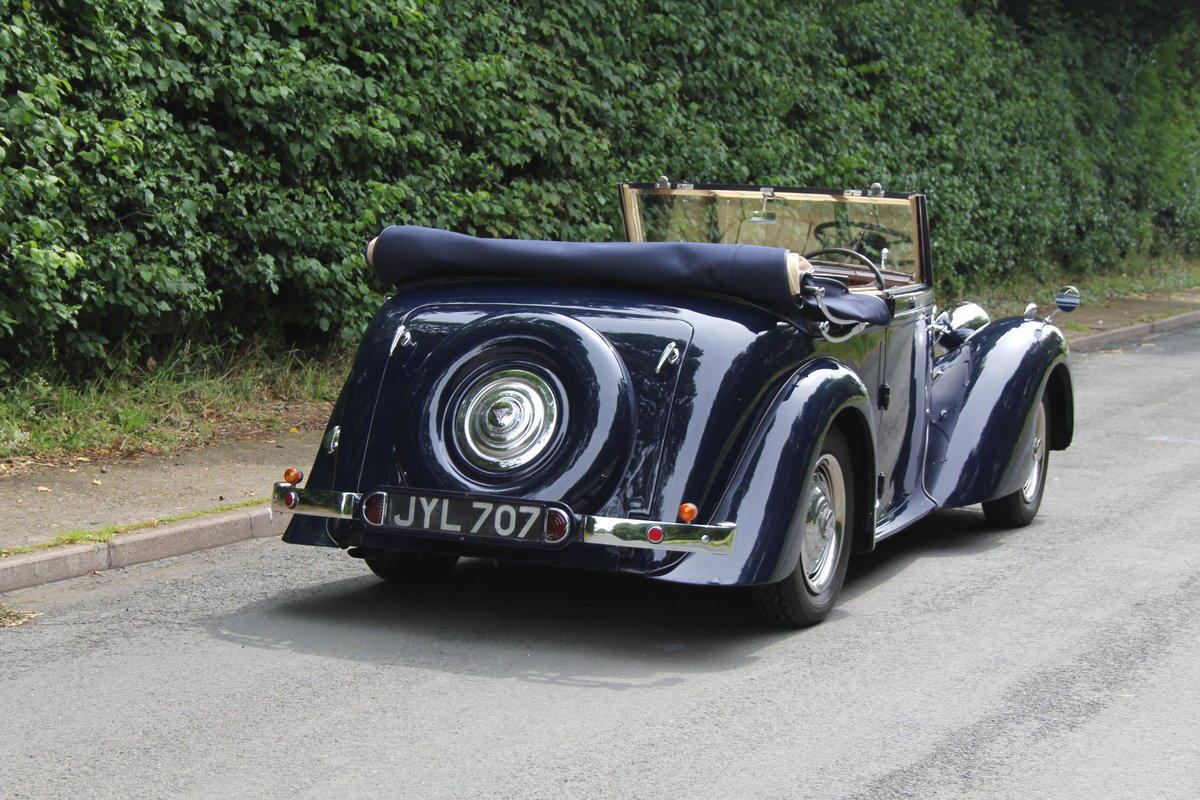 1947 Alvis TA14 Tickford DHC - Superb Provenance  SOLD (picture 5 of 12)