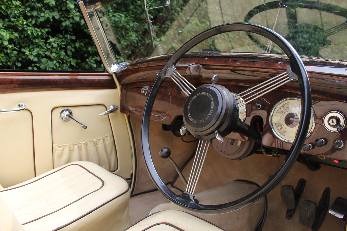 1947 Alvis TA14 Tickford DHC - Superb Provenance  For Sale (picture 6 of 12)