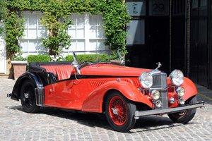1938 Alvis 4.3 Litre Short Chassis Vanden Plas Tourer SOLD