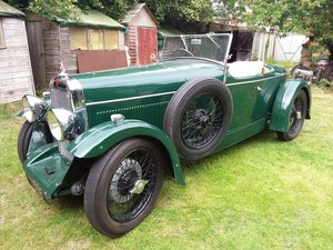 1931 ALVIS 12/60Beetleback For Sale