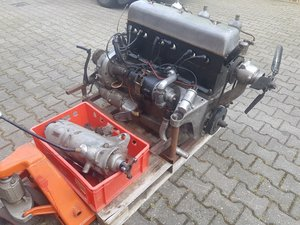 1935 Speed 20 engine (running) with gearbox for sale