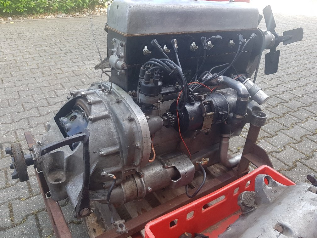 1935 Speed 20 engine (running) with gearbox for sale For Sale (picture 3 of 5)