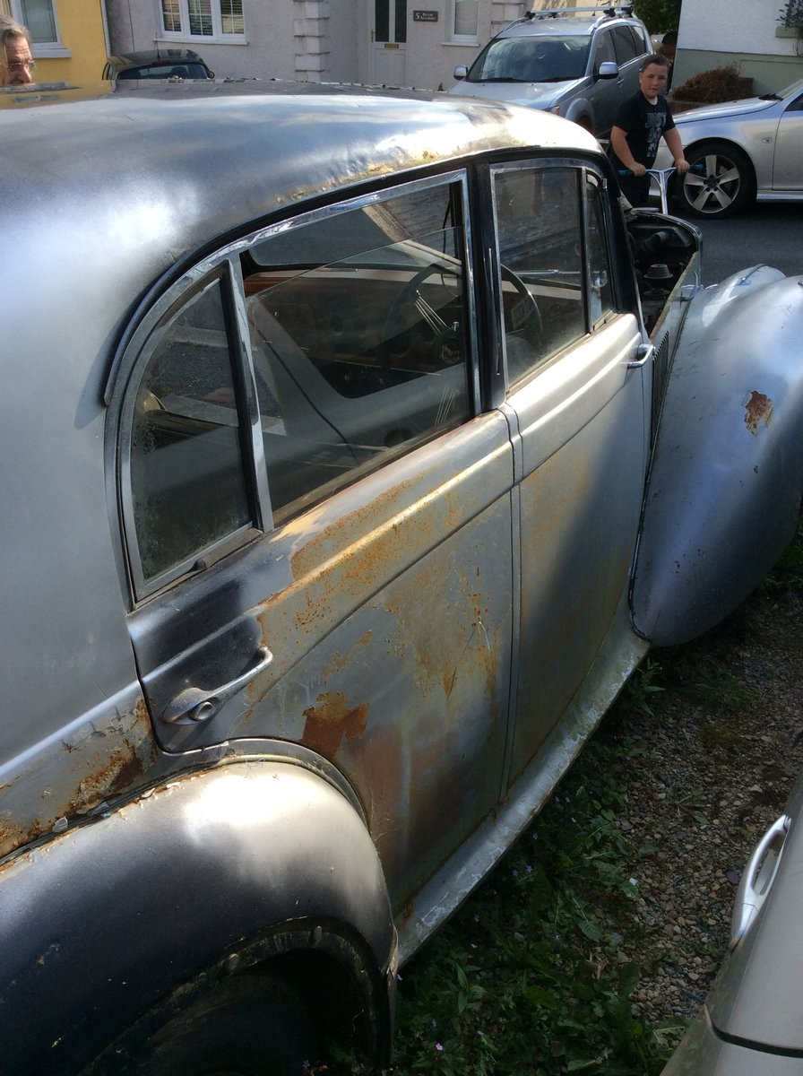 1954 Alvis TC21/100 Grey Lady. Restoration project. SOLD (picture 3 of 6)