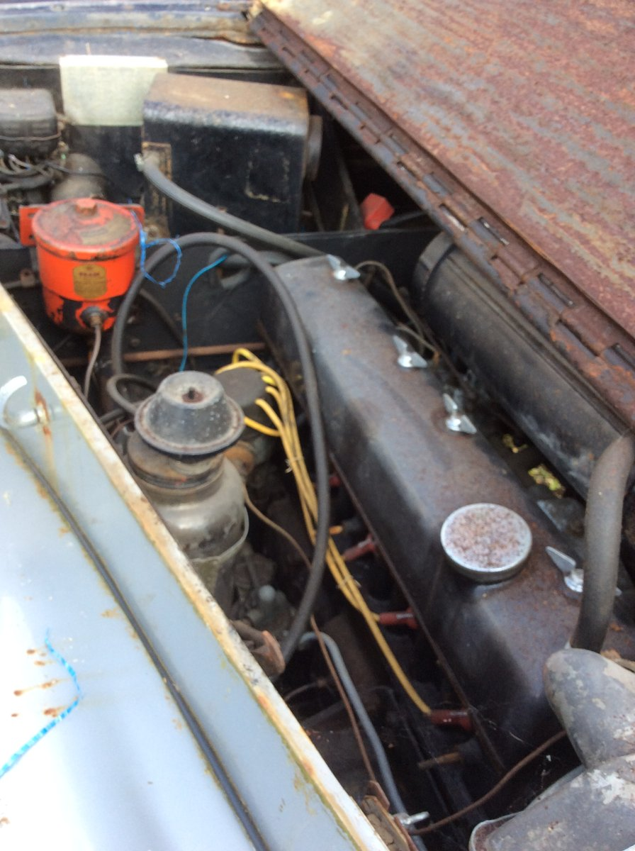 1954 Alvis TC21/100 Grey Lady. Restoration project. SOLD (picture 4 of 6)