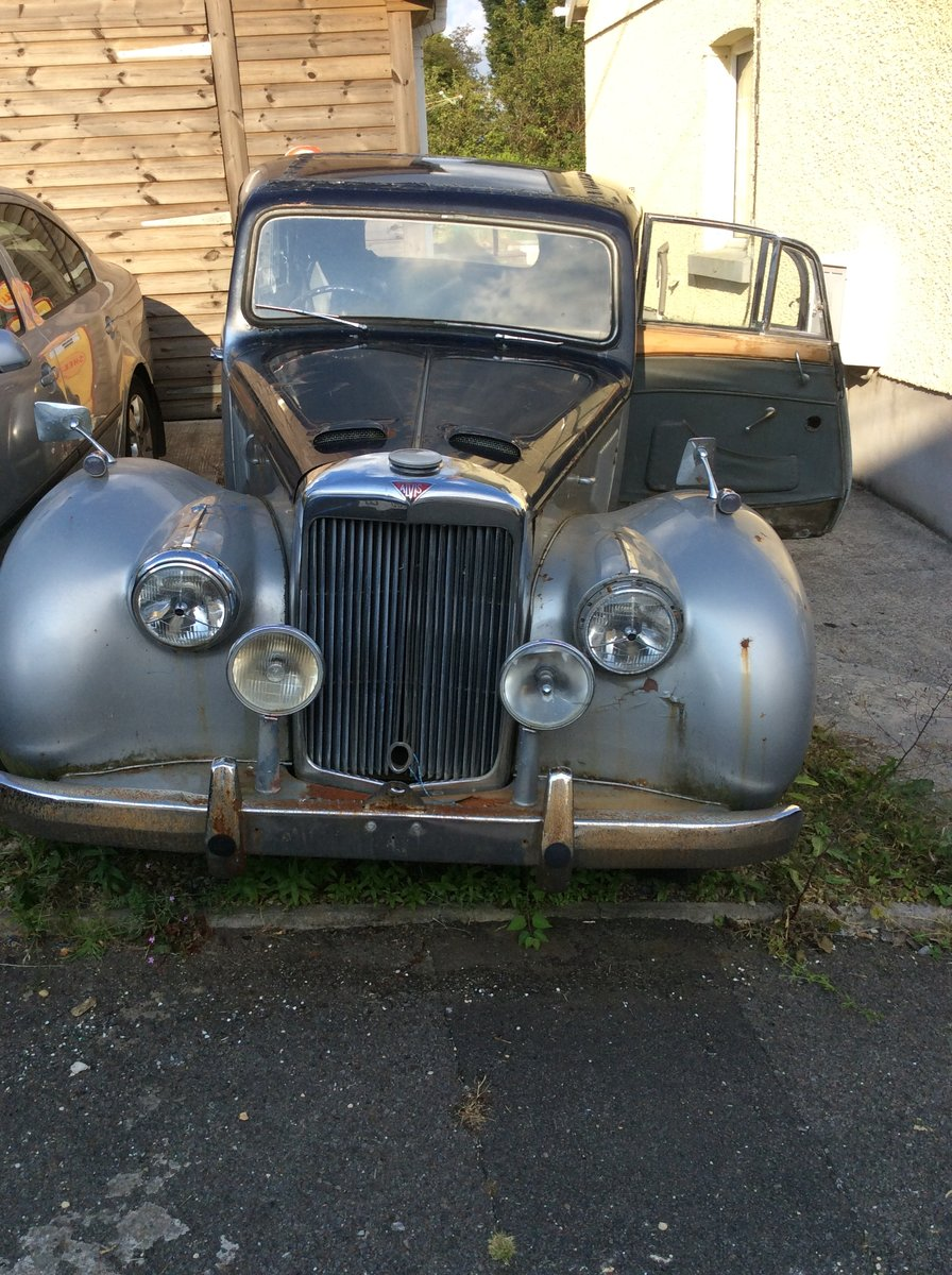 1954 Alvis TC21/100 Grey Lady. Restoration project. SOLD (picture 1 of 6)