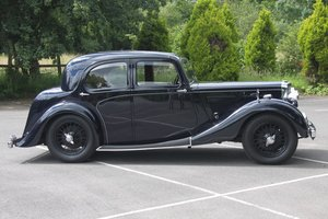 1939 Alvis 12/70 Mulliner Sports Saloon For Sale