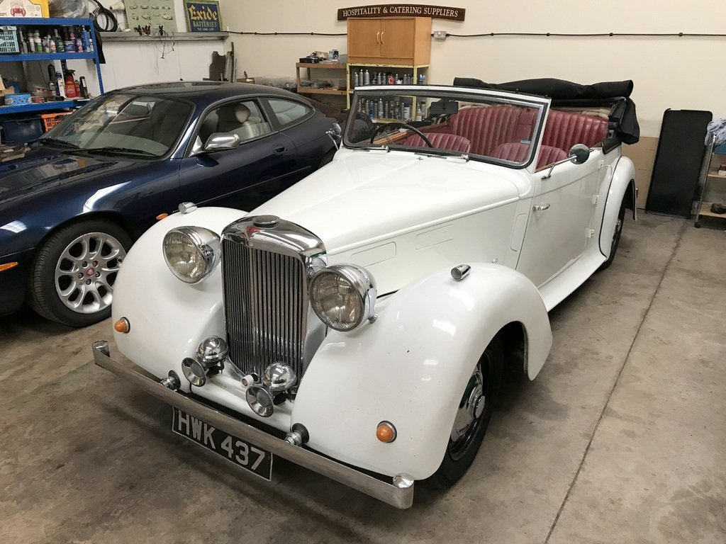 1949 Alvis TA14 DHC SOLD (picture 2 of 6)