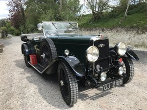 1930 Alvis Silver Eagle 16.95 TB Tourer For Sale