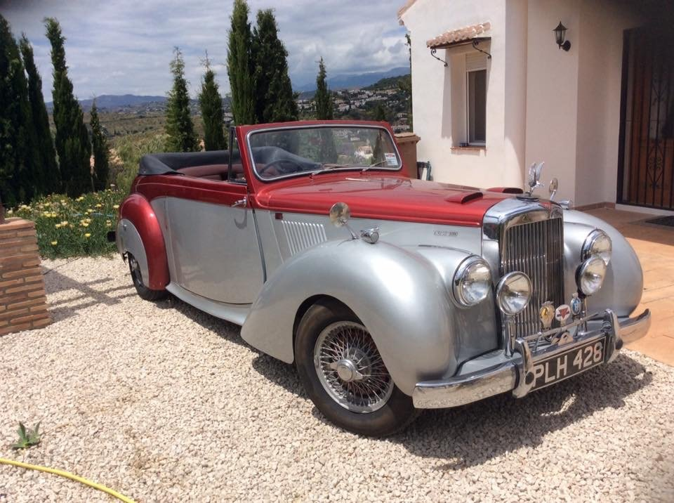 1954 Alvis. TC21/100 Grey Lady DHC SOLD (picture 1 of 2)