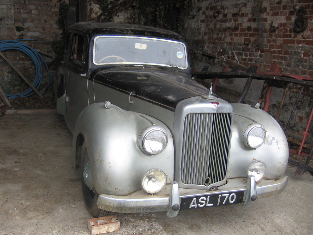1951 Alvis TA21 for restoration SOLD (picture 1 of 6)