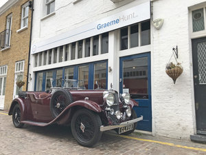 1937 Alvis Silver Eagle 4 door tourer by Cross & Ellis For Sale