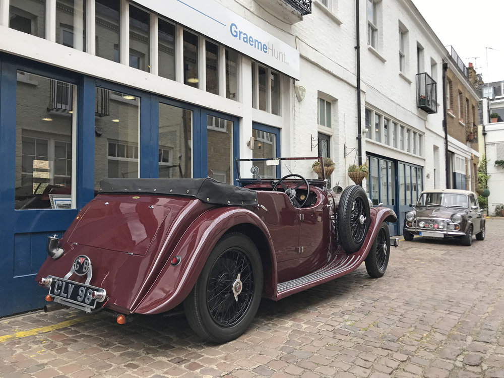 1937 Alvis Silver Eagle 4 door tourer by Cross & Ellis For Sale (picture 5 of 12)