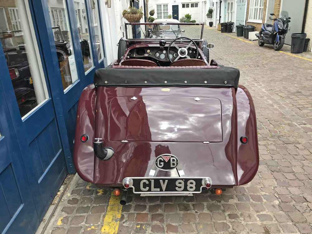 1937 Alvis Silver Eagle 4 door tourer by Cross & Ellis For Sale (picture 7 of 12)
