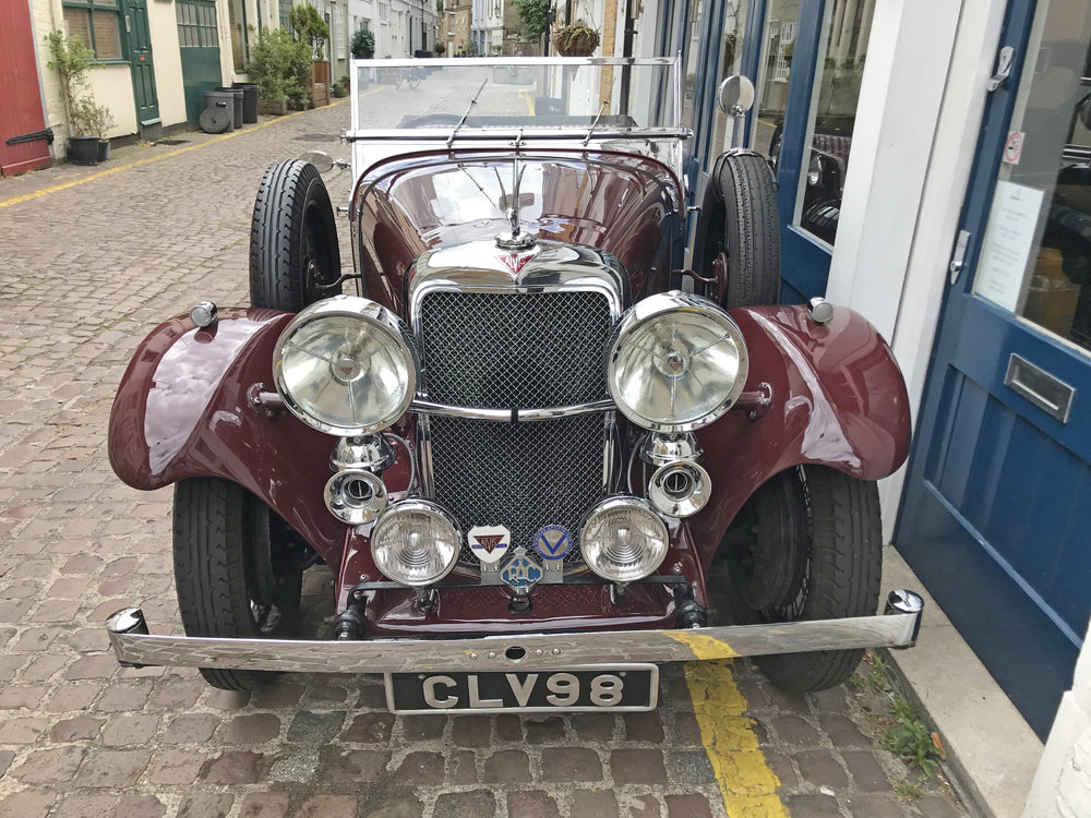 1937 Alvis Silver Eagle 4 door tourer by Cross & Ellis For Sale (picture 8 of 12)