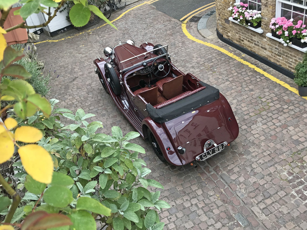1937 Alvis Silver Eagle 4 door tourer by Cross & Ellis For Sale (picture 12 of 12)