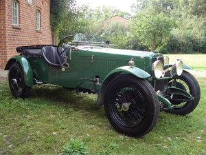 1931 Sporty tourer with a lot of power SOLD