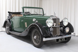 1936  Silver Eagle SG 16/95 DHC by Cross and Ellis