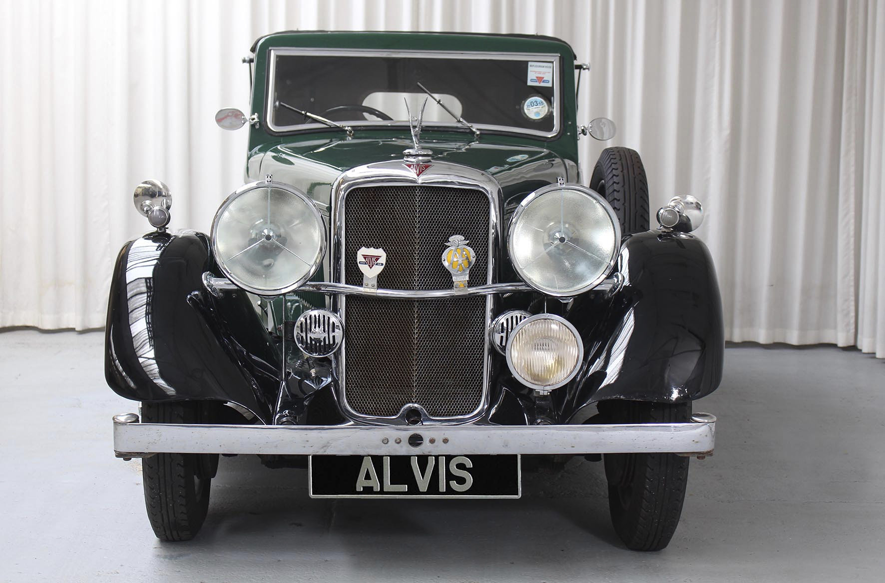 1936 Silver Eagle SG 16/95 DHC by Cross and Ellis For Sale (picture 3 of 6)