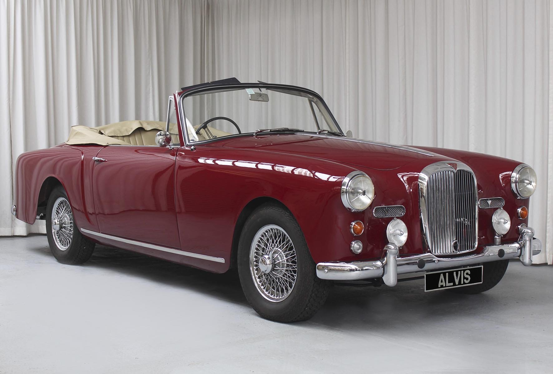 1961 TD 21 DHC By Park Ward For Sale (picture 1 of 6)