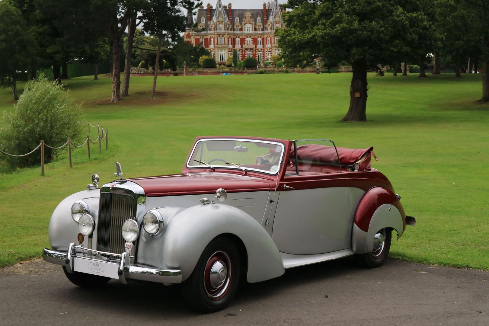 ALVIS TA 21 Original Drophead by TICKFORD 1952 For Sale (picture 1 of 6)