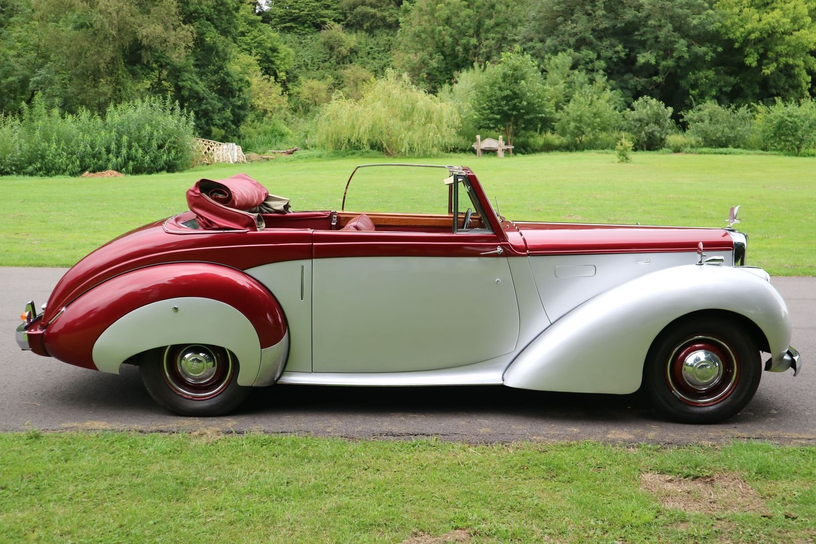 ALVIS TA 21 Original Drophead by TICKFORD 1952 For Sale (picture 4 of 6)