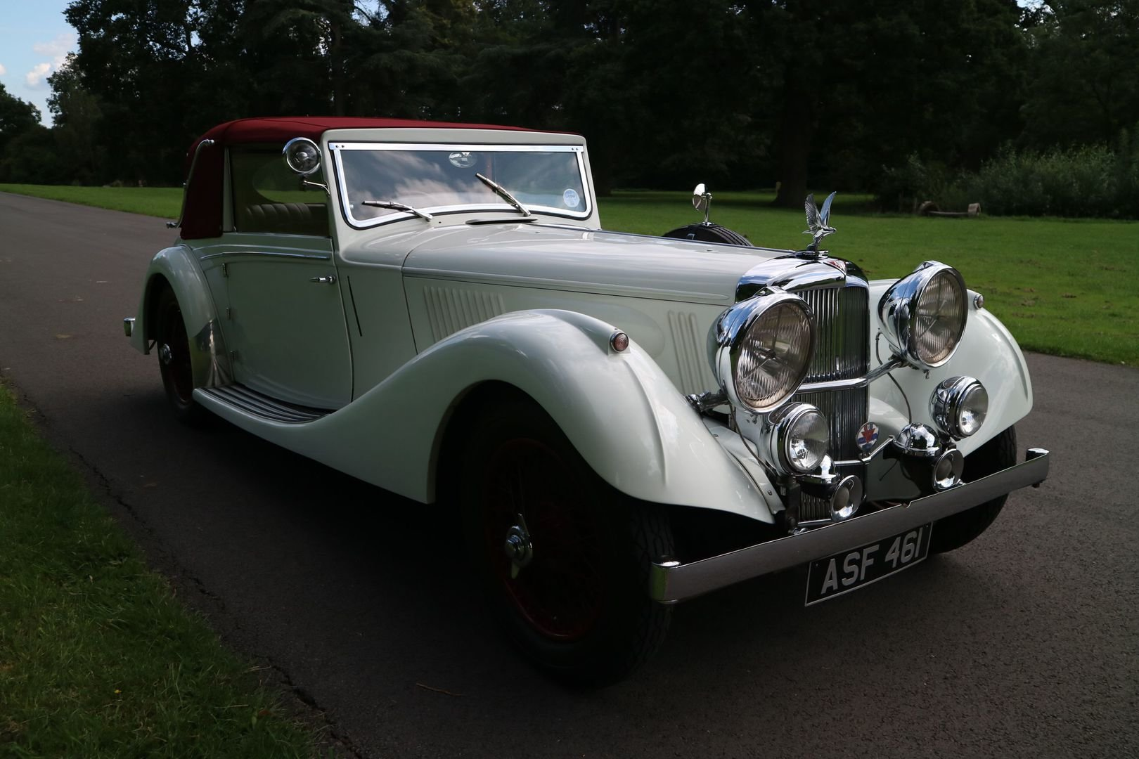 ALVIS SPEED 25 SB Charlesworth Drophead Coupe 1937 with O/D For Sale (picture 1 of 6)