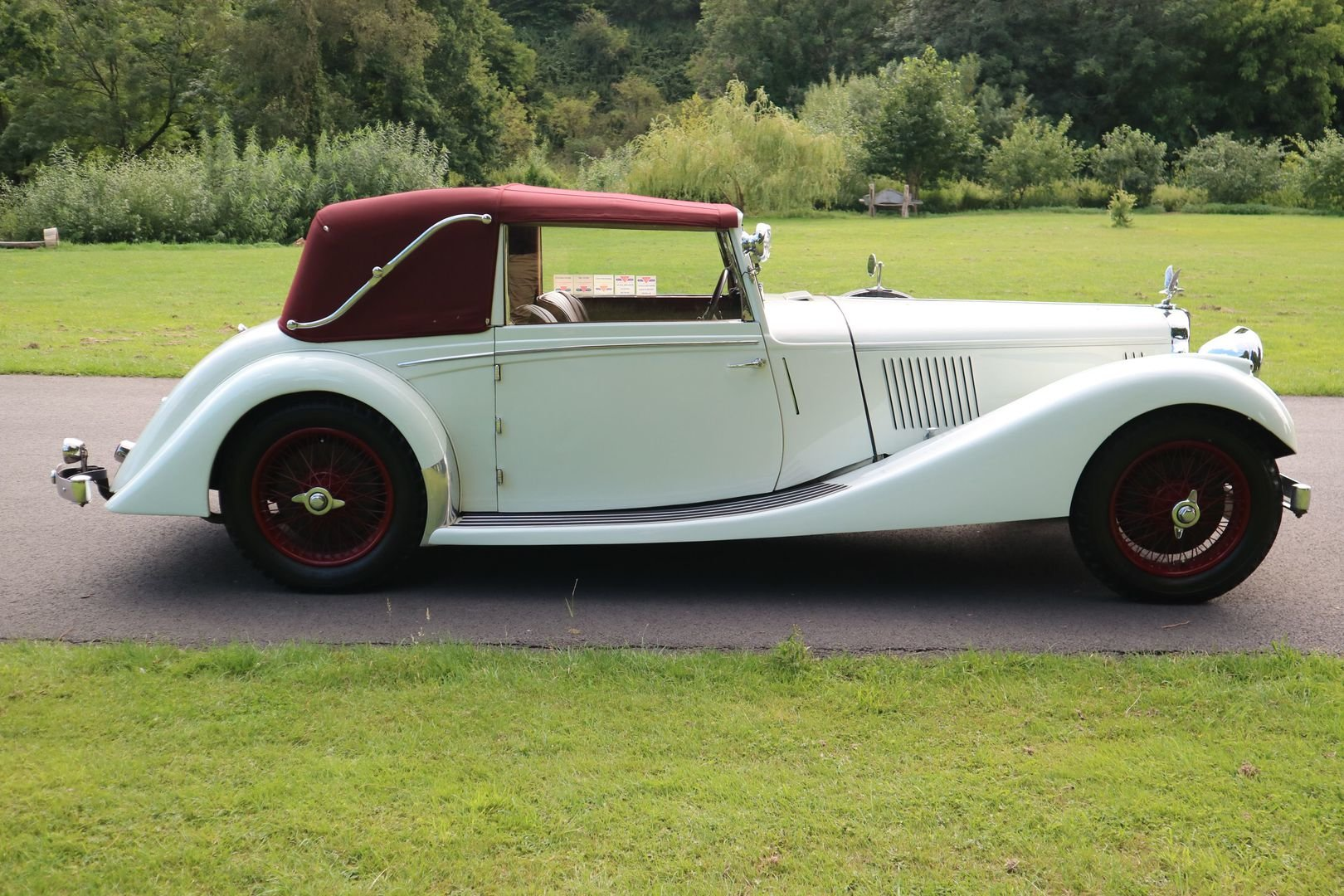 ALVIS SPEED 25 SB Charlesworth Drophead Coupe 1937 with O/D For Sale (picture 3 of 6)