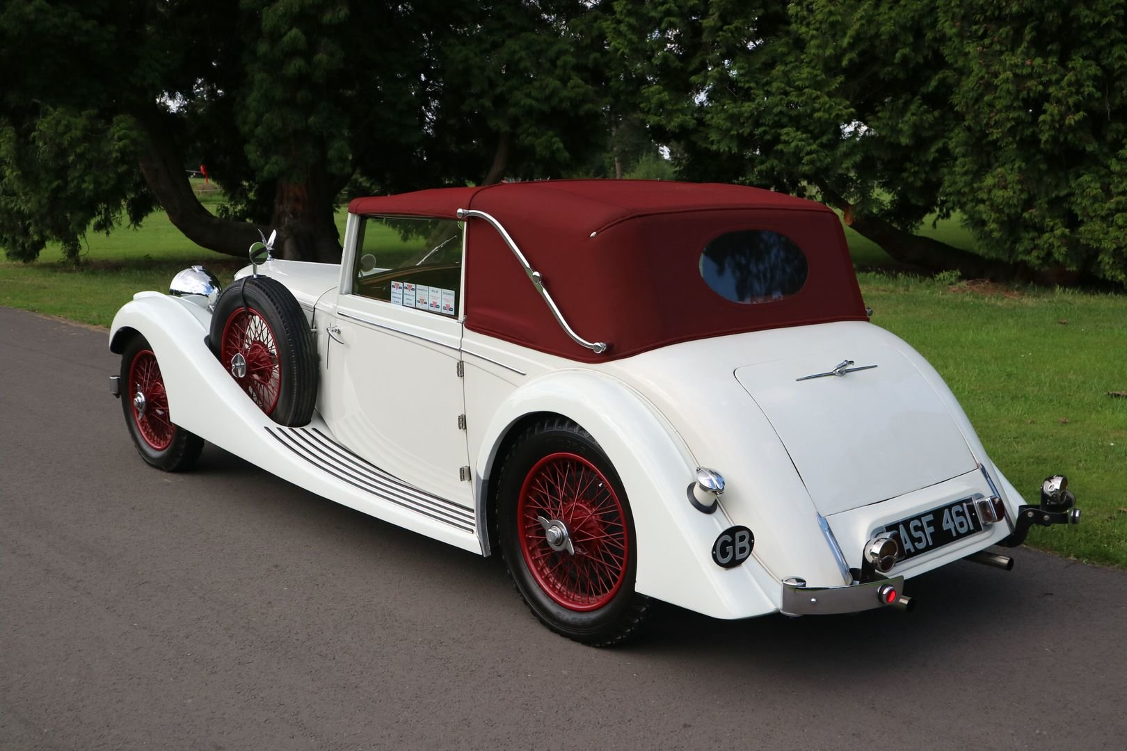 ALVIS SPEED 25 SB Charlesworth Drophead Coupe 1937 with O/D For Sale (picture 4 of 6)