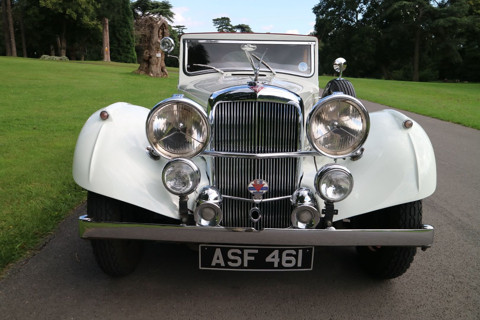 ALVIS SPEED 25 SB Charlesworth Drophead Coupe 1937 with O/D For Sale (picture 6 of 6)