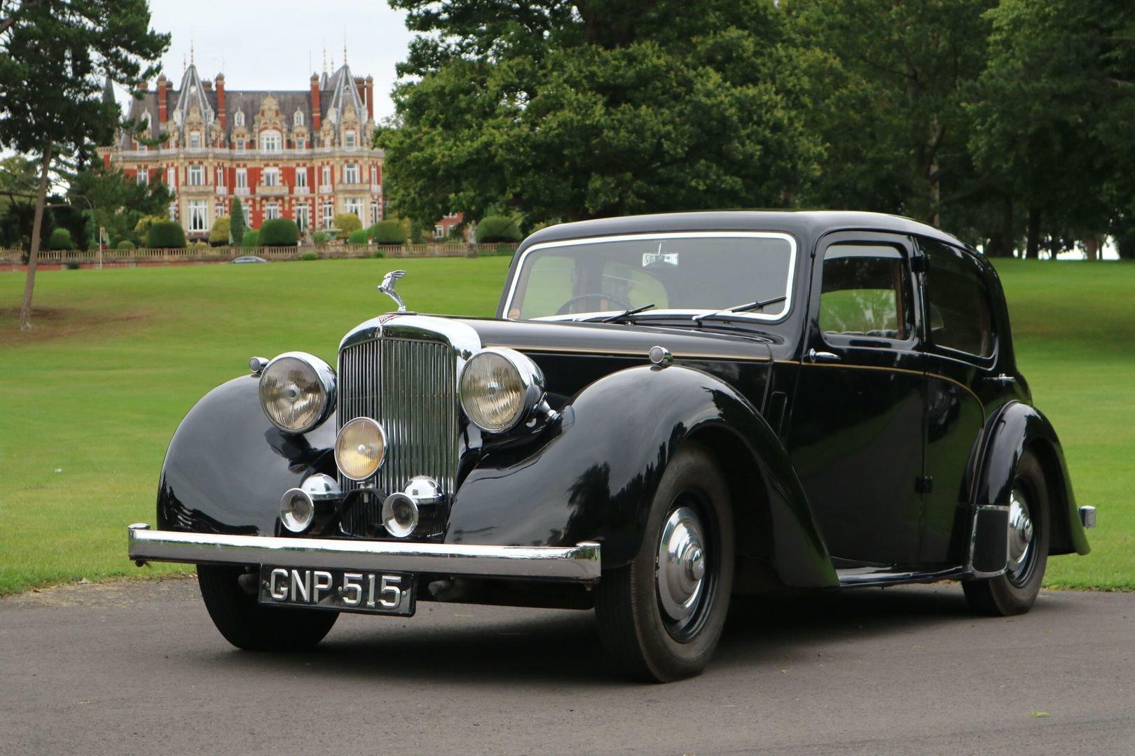 1947 ALVIS TA14 Same Family Owned, Genuine Original motor car  SOLD (picture 1 of 6)
