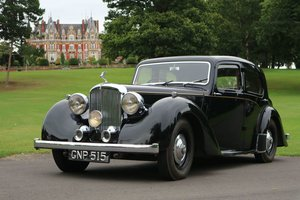 1947 ALVIS TA14 Same Family Owned, Genuine Original motor car  SOLD