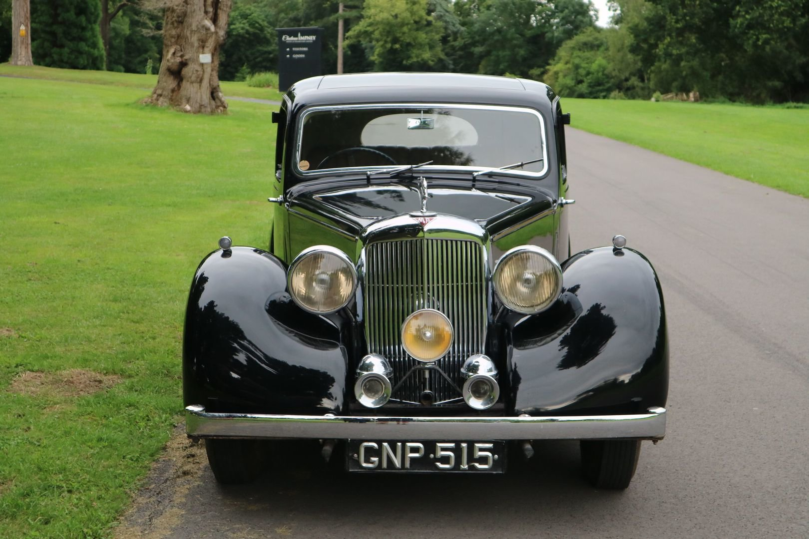 1947 ALVIS TA14 Same Family Owned, Genuine Original motor car  SOLD (picture 2 of 6)