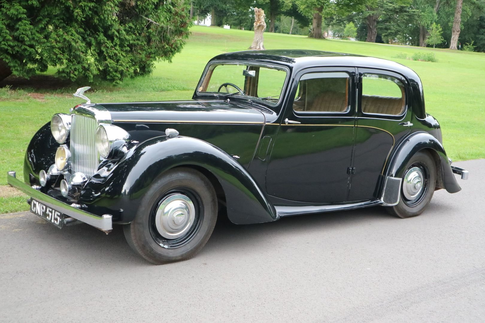 1947 ALVIS TA14 Same Family Owned, Genuine Original motor car  SOLD (picture 3 of 6)