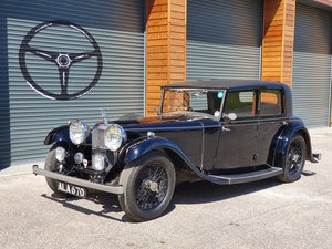 1933 Alvis SP20 Mayfair For Sale