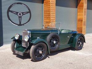 1932 Alvis 12/60 Beetleback