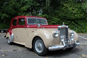 Alvis TA21 Sport Saloon 1951 - To be auctioned 25-10-19