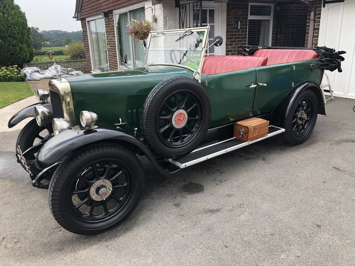 1926 Alvis 12/50 TG touring SOLD (picture 1 of 6)