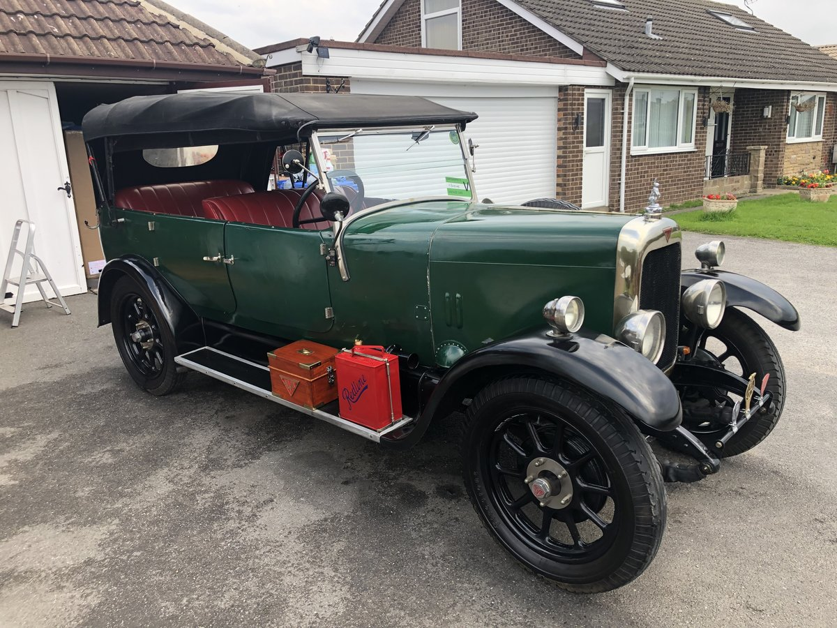 1926 Alvis 12/50 TG touring SOLD (picture 2 of 6)