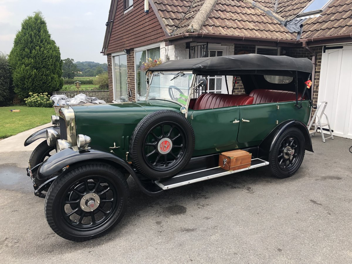 1926 Alvis 12/50 TG touring SOLD (picture 5 of 6)
