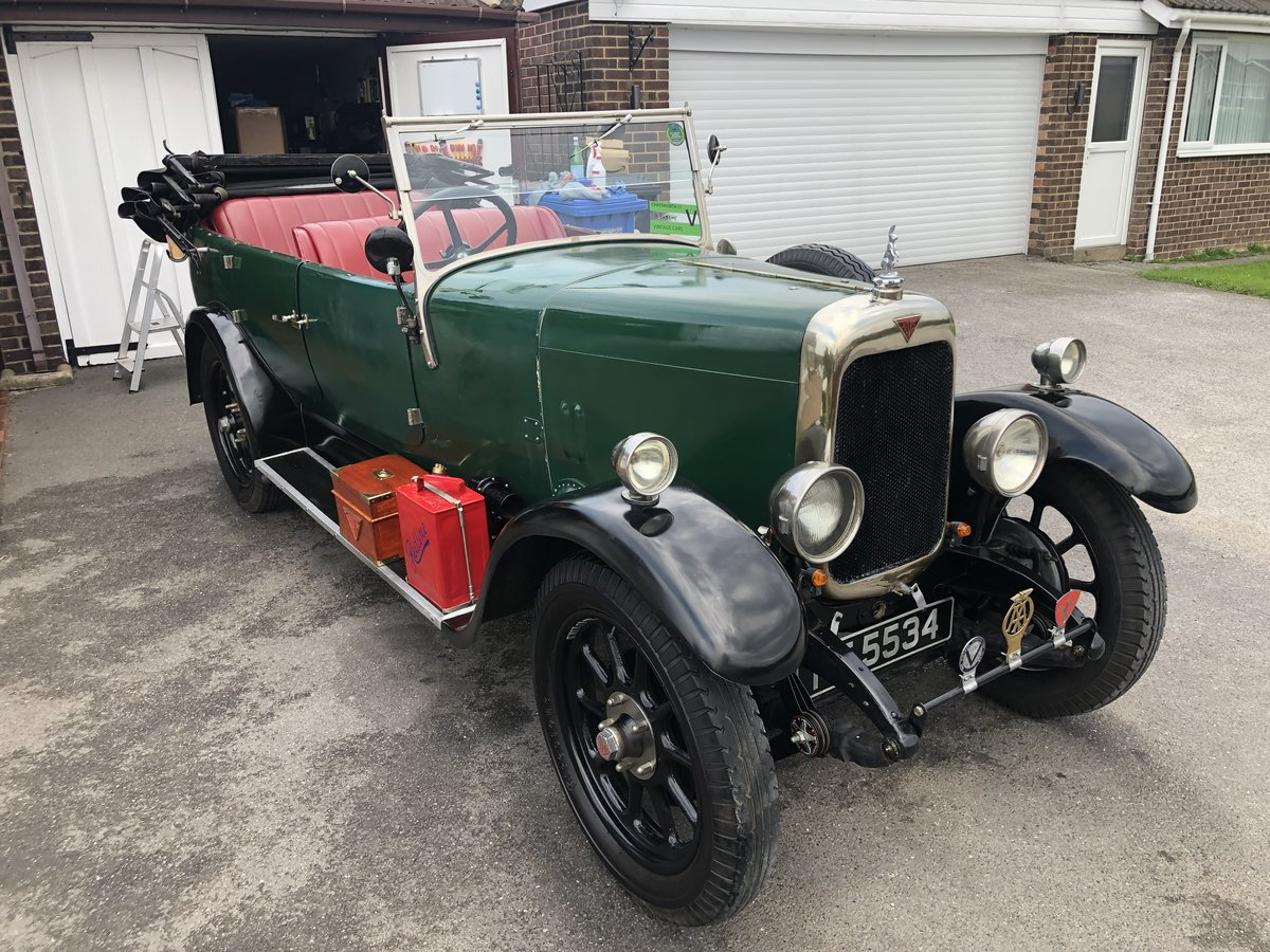 1926 Alvis 12/50 TG touring SOLD (picture 6 of 6)