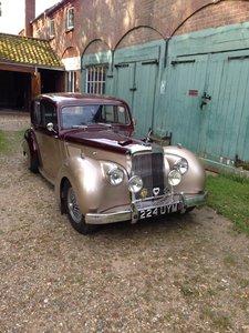 1954 Alvis TC21/100 Greylady Saloon For Sale